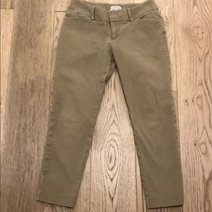 Merona stretch khaki pants